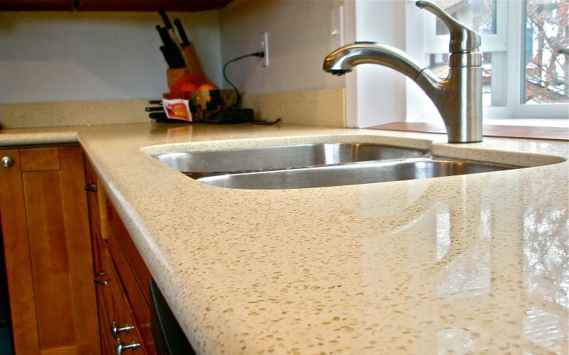 Quartz engineered stone custom countertops dallas for Engineered quartz countertops