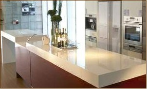 Samsung Staron Solid Surface Custom Countertops Dallas